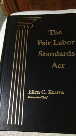 The Fair Labor Standards Act - Ellen C. Kearns editor- in-chief for Sale in Boston, MA