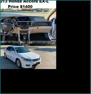 ֆ14OO_2013 Honda Accord EX-L for Sale in Portland, OR