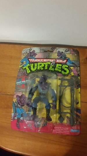 Playmates 1990 Teenage Mutant Ninja turtle foot soldier action figure for Sale in Baltimore, MD