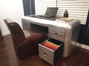 "Restoration Hardware Blackhawk 61"" Desk for Sale in Ashburn, VA"