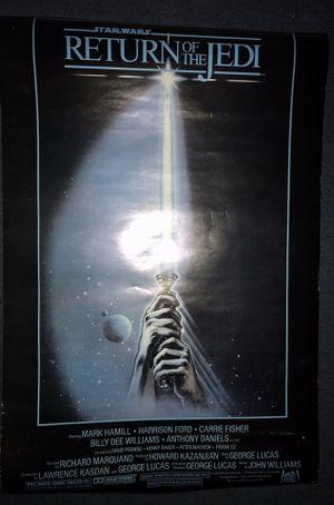 Vintage Star Wars posters original for Sale in Los Angeles, CA