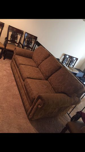 3 CUSHION SOFA BED for Sale in Alexandria, VA