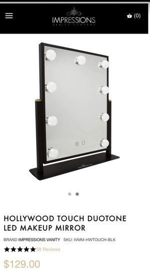 New impressions vanity mirror for Sale in Riverside, CA