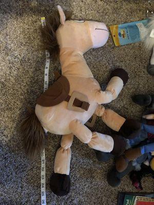 "Jumbo Toy Story Bullseye plush horse doll (Disney) 25"" long for Sale in Phoenix, AZ"