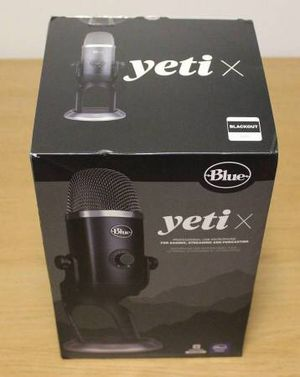 Blue Yeti X Professional Microphone for Sale in Orlando, FL