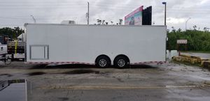 2018 LOAD RUNNER TRAILER - 28FT - ENCLOSED TRAILER (CASH ONLY) for Sale in Miami, FL