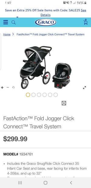 Graco stroller with car seat for Sale in Conroe, TX