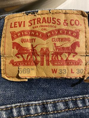 Levi's 569 Loose Straight Legged Men's Jeans for Sale in Erie, CO