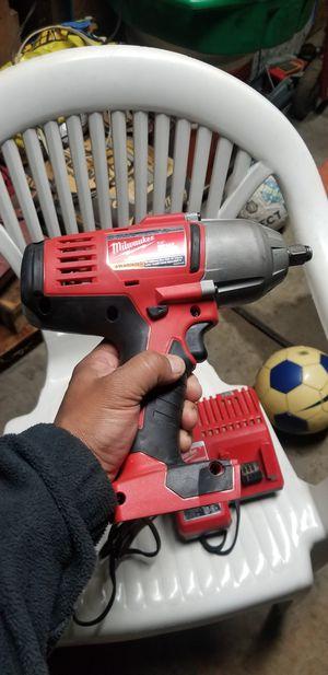 Milwaukee 18V 1/2 high Torque impact wrench for Sale in Warren, MI