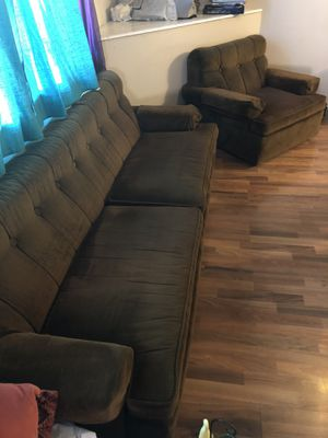 Vintage sofa couch and chair for Sale in Pasco, WA