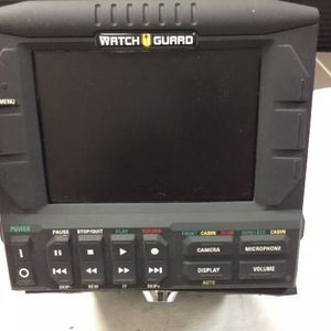 Watch Guard DV-1E DVD Video Camera System Police Dash Cam WatchGuard for Sale in Houston, TX