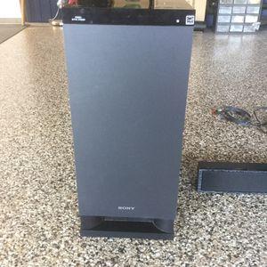 Sony Sub woofer and soundbar for Sale in San Diego, CA