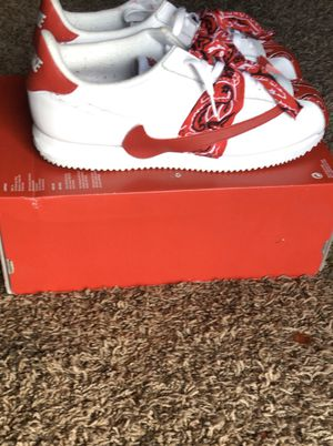 Custom Nike Cortez reverse swoosh for Sale in Olympia, WA
