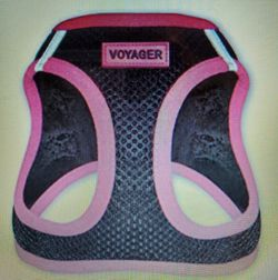 Voyager Step-in Air Dog Harness - Medium In Black & Pink for Sale in Henderson,  NV