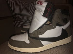 Jordan 1 Travis Scott 9.5 for Sale in Fort Worth, TX
