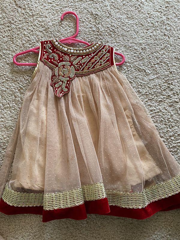 Baby girl indian dress set