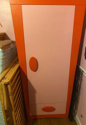 IKEA girls closet/wardrobe with shelves & drawer for Sale in Pembroke Pines, FL