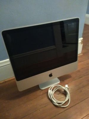 Apple iMac Computer 20inch 4GB| 320GBStorage 2.6 $75 for Sale in Portland, OR