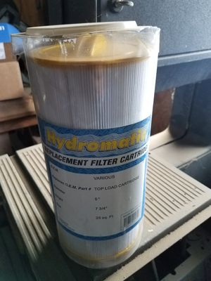 Hydromatic Filter for spa hot tub for Sale in Riverside, CA