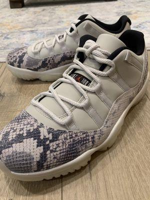 Nike Air Jordan 11 Retro Low Snake Light Bone Sz 10 Brand New for Sale in Fremont, CA