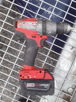 Milwaukee 18 volt hammer drill for Sale in Malden, MA