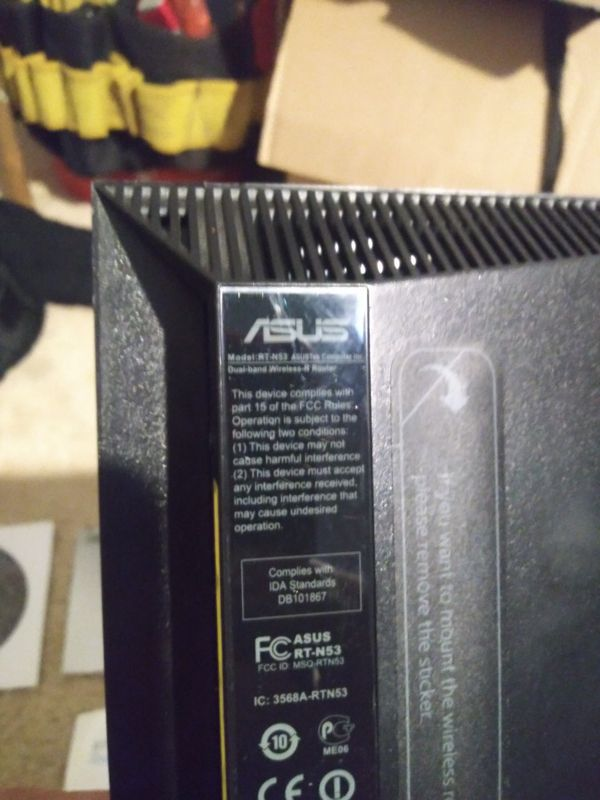 ASUS Dual-Band Wireless-N Router Model RT-N53