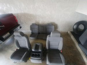 Complete 14-19 chevy silverado/gmc seats $1200 OBO for Sale in La Habra Heights, CA