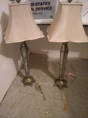Antiques silver french lamps for Sale in Miami Beach, FL
