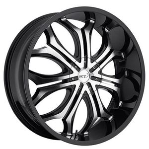 24 inch VCT Godfather rims Black for Sale in Richmond, VA