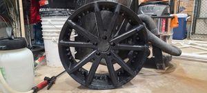 """20"""" Gianelle Spidero 20x8.5 Black 5x114.3 for Sale in Miami, FL"""