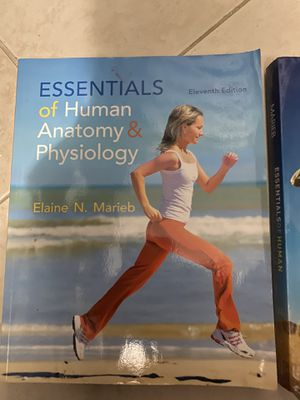 essentials of human anatomy and physiology by elaine n. marieb for Sale in Hialeah, FL