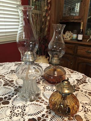HURRICANE LAMPS for Sale in Sanger, CA