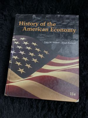 History of the American Economy (Textbook) for Sale in Glendale, CA