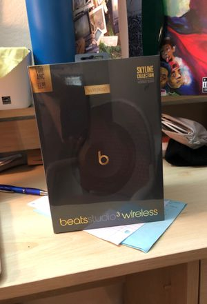 Beats Studio 3 wireless Headphones for Sale in San Jose, CA
