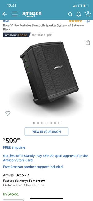 BOSE S1PRO BLUETOOTH SPEAKER RECHARGEABLE for Sale in Pomona, CA