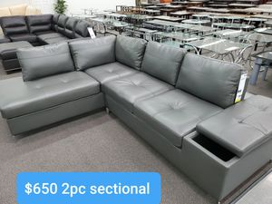 TWO PIECE SECTIONAL $50 down payment if financed for Sale in Rialto, CA