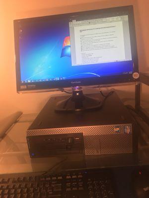 Dell 790 Optiplex Intel Core i7-2600 3.4GHz 8gb ram 300gb Win 7 Pro desktop for Sale in Fairfax, VA