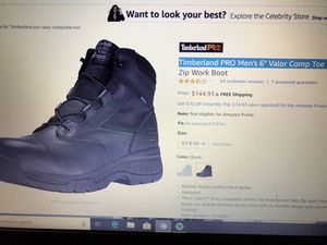 Timberland pro comp toe size 9 for Sale in Chicago, IL