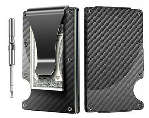 Carbon Fiber Wallet , Credit Card Holder with Money Clip. **2 DAY SHIPPING** for Sale in New Haven, CT