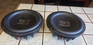 Polk Mm10 subs with enclosure for Sale in Pleasant Hill, CA