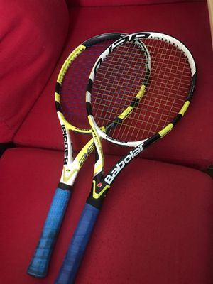 2 Babolat Tennis Rackets ..... 4 1/4 grip ...... 100 sq in for Sale in Las Vegas, NV