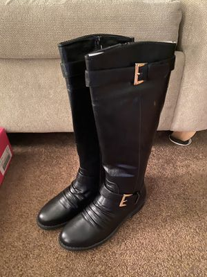 Black riding boots for Sale in Buffalo, NY