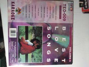 Karaoke Best Love Songs! Laserdisc for Sale in Yonkers, NY