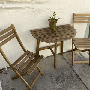 Ikea ASKHOLMEN Patio Dining Set for Sale in Universal City, CA
