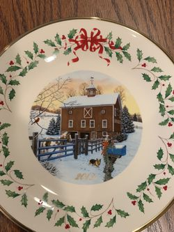 Lenox 2019 Annual Collector Plate for Sale in Township of Washington,  NJ