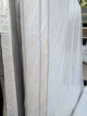 Brand new double sided pillow top mattress and box springs for Sale in Richmond, VA