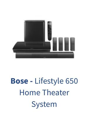 BOSE LIFESTYLE 650 Complete Home Theater for Sale in Miami, FL