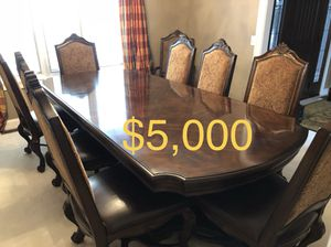 Dining Room Table and Chairs for Sale in Auburn, IN