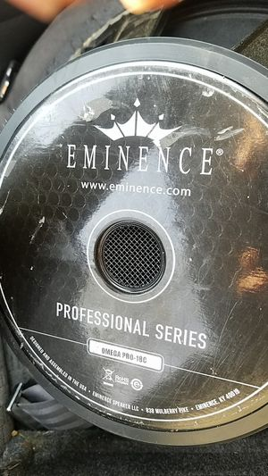 Eminence professional series sub 18 for Sale in TN, US