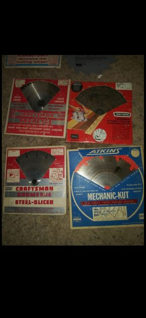 Saw blades for Sale in Bakersfield, CA